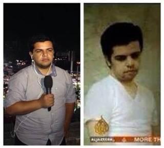 Wartawan Aljazeera, sebelum dan sesudah ditahan (islammemo.cc)