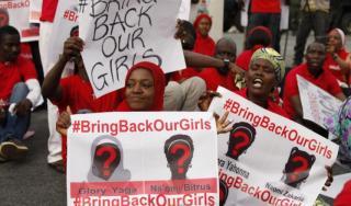 Aksi warga menuntut dibebaskannya para korban penculikan (Aljazeera)