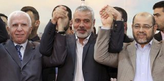 Hamas dan Fatah bersama-sama membentuk pemerintahan baru Palestina.  (noticias.com)