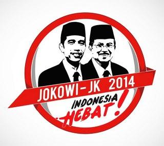 Logo Jokowi-JK. (inet)