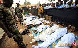 Korban pembantaian di Afrika Tengah (Al-Muslim)