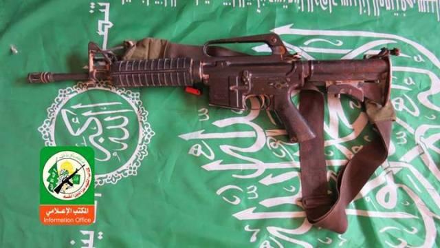 senapan mesin M-16 1