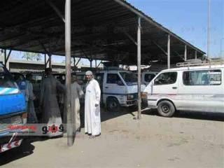 Suasana salah satu terminal angkutan umum di Mesir (islammemo.cc)