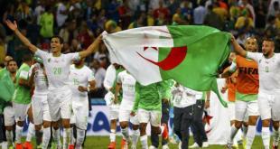 Timnas Aljazair yang tampil di piala dunia 2014. (liputan6.com)