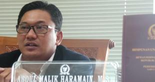 Anggota Komisi II DPR RI dari Fraksi PKB, Abdul Malik Haramain.  (kompas.com)