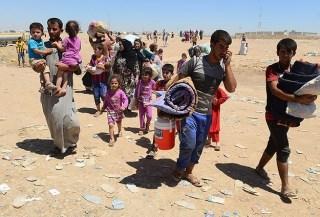 Para pengungsi Turkmen di Irak (Anadolu)