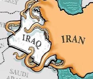 Peta Irak-Iran (amsi)