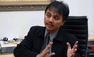 Roy Suryo, Menteri Pemuda dan Olahraga. (merantionline.com)