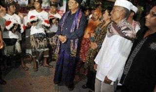 Ilustrasi - Umat Islam di Bali. (ROL)