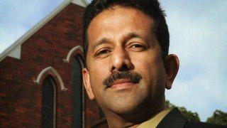 Pemimpin Rise Up Australia Danny Nalliah, Orasi pastor dari kelompok Evangelis.  (www.adelaidenow.com.au)