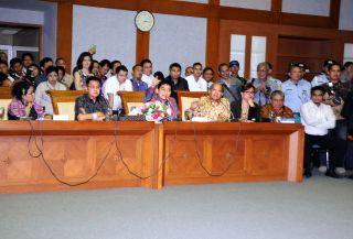 Rapat Dengar Pendapat Baleg DPR RI dengan sejumlah organisasi advokat.  (dpr.go.id)