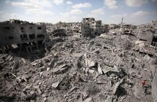 Kondisi Jalur Gaza paska agresi militer Israel (safa.ps)