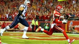 Aksi Husain Abdullah dalam pertandingan Liga American Football (NFL).  (rantsports.com)
