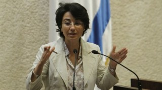 Haneen Zoabi, anggota parlemen Israel. (www.timesofisrael.com)