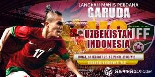 Indonesia U-19 vs Uzbekistan U-19 (ilustrasi).  (sepakbola.com)