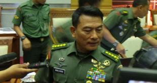 Panglima TNI Jenderal TNI Moeldoko. (kompas)