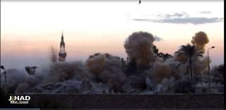 Masjid di perbatasan Rafah, dihancurkan oleh tentara As-Sisi (almokhtsar.com)