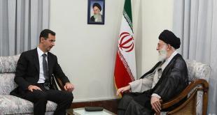 Basyar Asad dan Ali Khamenei. (syrianoor.net)