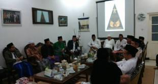 PWNU Se-Indonesia bagian barat saat meninjau lokasi yang menjadi ajang Muktamar NU ke-33 di Jombang. Jum'at Sore (06/03/2015). (Rudi. S)
