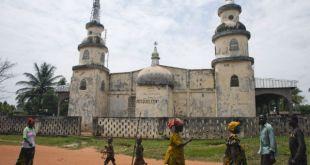 Masjid di Afrika Tengah. (cloudfront.net)