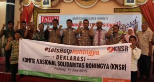 Deklarasi KNSR Sumbar di Auditorium Gubernuran Provinsi Sumatera Barat. Kamis (11/6/15).  (ACTNews)