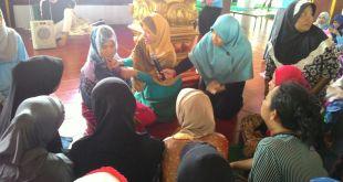 Remaja Islam Sunda Kelapa (RISKA) menggelar bakti sosial di kampung nelayan, Cilincing, Jakarta Utara. (Neneng.FF/RISKA)