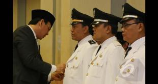 Pelantikan pejabat pemprov DKI Jakarta. (liputan6.com)
