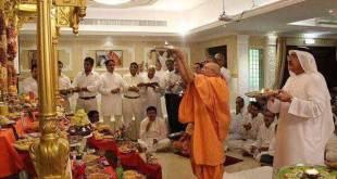 Ritual agama Hindu yang diselenggarakan di Emirat Arab. (islammemo.cc)