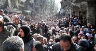 Pengungsi Suriah. (kompas.com)