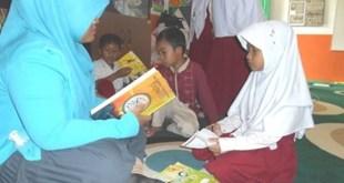 Intan Indriyani, siswa kelas 2 SD Juara Cilegon binaan RZ (Rumah Zakat). (Rena/RZ)