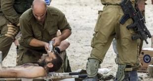 Tentara Israel yang terluka (paltimes.net)