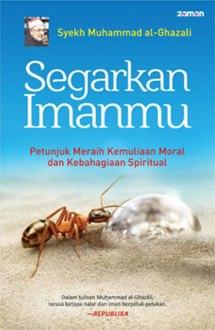 """Cover buku """"Segarkan Imanmu""""."""