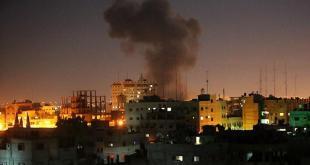 Serangan udara Israel ke Jalur Gaza (aa.com.tr)