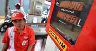 Meski harga minyak dunia terus mengalami penurunan, harga BBM tidak akan diturunkan.  (kompas.com)