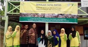 Sekolah Tapal Batas. (Achmad Salido)