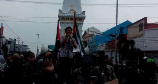 Mahasiswa dan Ormas Islam Yogyakarta menggelar Tabligh Akbar dan penggalangan dana untuk Aleppo pada hari Ahad (22/5/2016).. (YN)