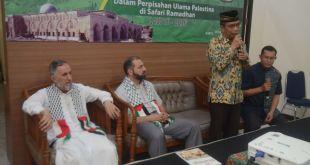 Ketua Harian KNRP, Caca Cahayaningrat dalam acara penutupan Safari Ramadhan. )KNRPMedia)