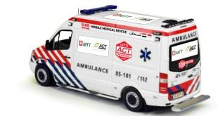 Majelis Ta'lim Telkomsel (MTT) bekerjasama dengan Aksi Cepat Tanggap (ACT) dan Bulan Sabit Merah Turki menyalurkan Ambulance bagi pengungsi Suriah.  (Fitri/Aat)