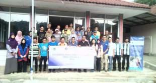 Pelatihan manajemen pariwisata di desa Sidamukti kabupaten Majalengka, Rabu (24/08).  (Vina/Putri/PKPU)