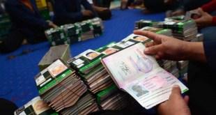 Menteri Agama Lukman Hakin Saifuddin mengatakan, hingga saat ini, visa jamaah haji  gelombang dua mendatang belum semua selesai. (kabarmakkah.com)