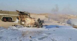 Pesawat tempur Israel hancur setelah gagal mendarat di bandara militer Negev. (alresalah.ps)