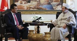 Menteri agama Turki menerima perwakilan muslim Rohingya. (Islammemo.cc)