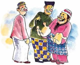Ilustrasi - Sifat sombong (blogspot/muslimmulia)