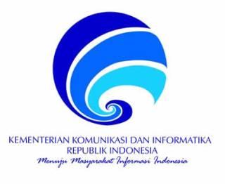 Logo Kementerian Komunikasi dan Informatika RI. (kominfo.go.id)