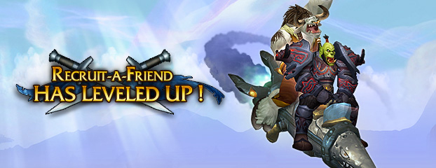 Refer a Friend in Dalaran-WoW