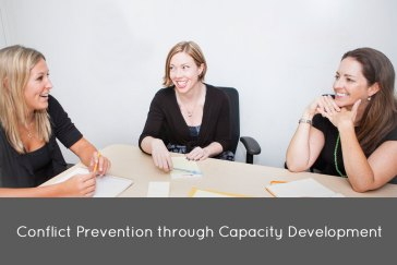 Conflict Prevention through Capacity Development