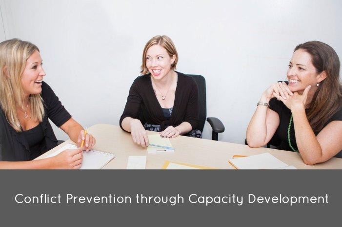 Conflict Prevention through Capacity Development