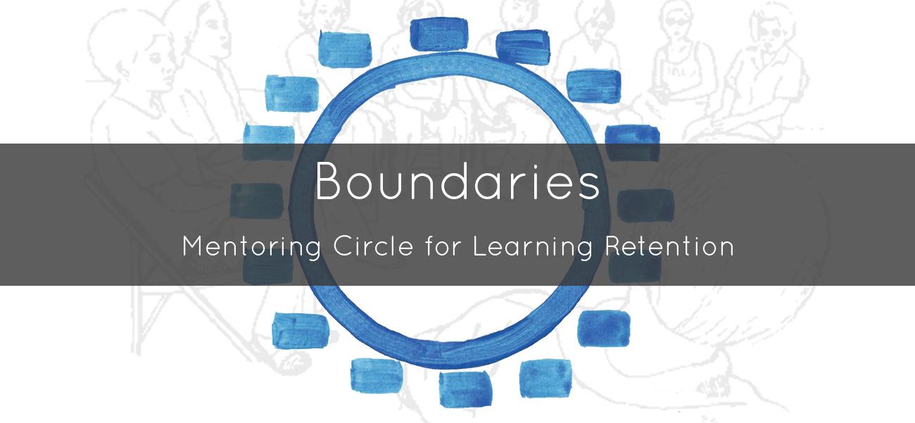 Boundaries and Givens Mentoring Circle for Learning Retention for Genuine Contact Professionals