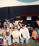 Dale, Pete, Tom, Melissa, Laura, Mike at Shoreline for a farewell Dead show, July 1, 1994