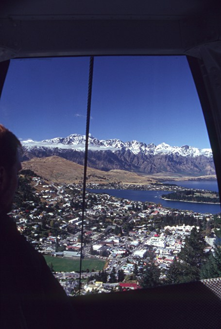 Queenstown from the gondola